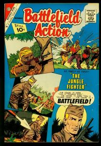 Battlefield Action #39 1961- Charlton Comics- Jungle Fighter- VF-