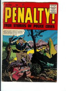 Penalty! (Crime Must Pay the)  #48 - Silver Age - VG 1956