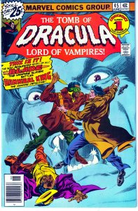 Tomb of Dracula(vol. 1) # 45   The Bride of Dracula ! Blade Vampire Hunter !