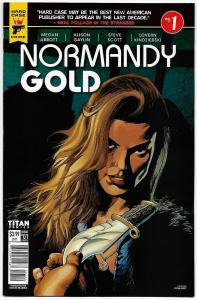 Normandy Gold #1 Cvr B (Titan, 2017) VF/NM