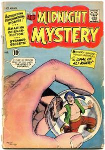 Midnight Mystery #2 1961- Opal of Ali Khar- Reading copy