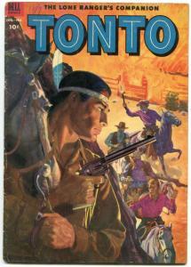 Tonto #9 1953- Dell Western Comic- Golden Age VG-