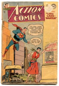 Action #195 1954 -Superman-Lois Lane-Tommy Tomorrow FR