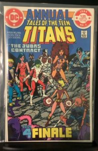 Tales of the Teen Titans Annual #3 (1984)