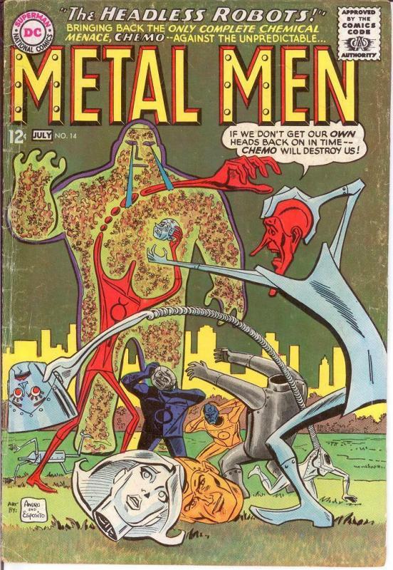 METAL MEN 14 VG July 1965 COMICS BOOK
