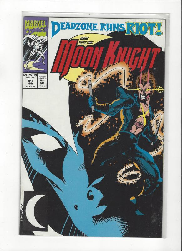 Marc Spector: Moon Knight #49 Vs Deadzone NM