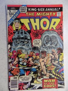 MIGHTY THOR ANNUAL # 5