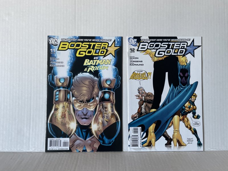 Booster Gold #11 & 12 (2008) Unlimited Combined Shipping