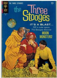THREE STOOGES (1959-1972 DELL/GK) 29 VG-F July 1966