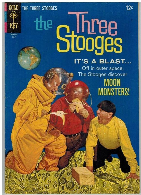 THREE STOOGES (1959-1972 DELL/GK) 29 VG-F July 1966