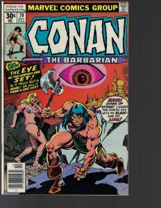 Conan the Barbarian #79 (Marvel, 1977) NM