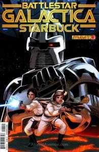 Battlestar Galactica: Starbuck (2nd Series) #4 VF; Dynamite | save on shipping -