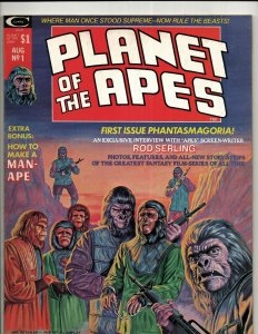Planet Of The Apes # 1 VF/NM Curtis Marvel Comic Book Magazine Movie Ape RS3