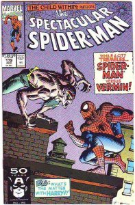 Spider-Man, Peter Parker Spectacular #179 (Oct-91) NM/NM- High-Grade Spider-Man