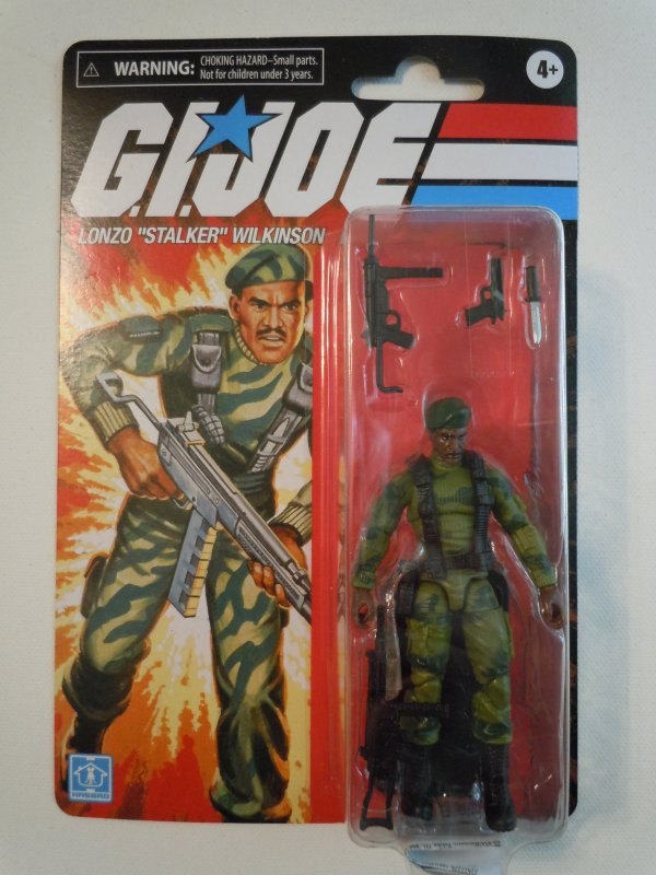 Hasbro G.I. Joe Retro Collection Stalker 3.75 Inch