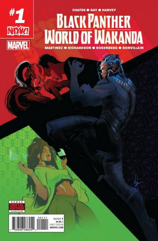 BLACK PANTHER WORLD OF WAKANDA (2016 MARVEL) #1 NM- A78771