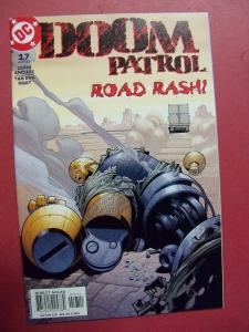 DOOM PATROL #17  NM (9.2)  OR BETTER DC COMICS