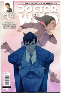 DOCTOR WHO #12 A, NM, 10th, Tardis, 2014, Titan, 1st, more DW in store, Sci-fi