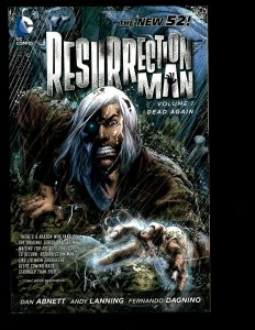 Resurrection Man Vol. # 1 Dead Again DC Comic Book TPB Graphic Novel New 52 J400