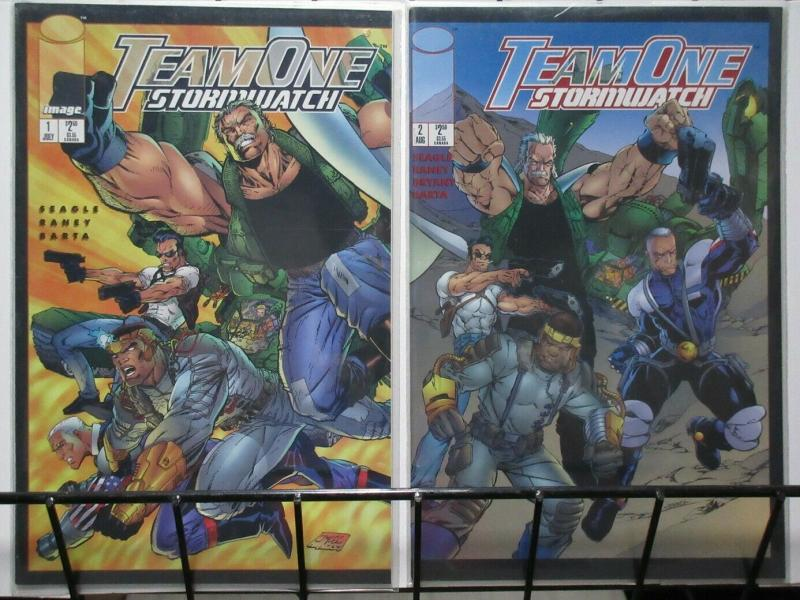 TEAM ONE STORMWATCH 1-2  complete story