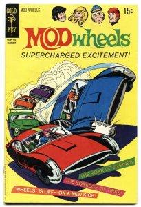MOD Wheels #1 Gold Key-1st issue-TV cartoon series 1970-FN+