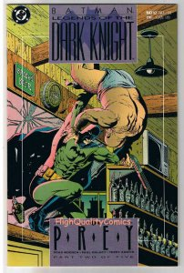 BATMAN : LEGENDS OF THE DARK KNIGHT #12, Prey, 1989, NM+, more LotDK in store