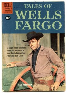 Tales of Wells Fargo- Four Color Comics #1167- Dale Robertson VG-