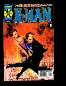 Lot Of 8 X-Man Marvel Comics # 63 64 65 66 67 70 71 72 X-Men Avengers  EK10