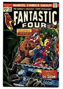FANTASTIC FOUR #144 comic book-1974-Marvel NM-