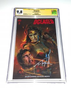 DCeased #2 - CGC 9.8 SHANNON MAER Comic Mint Exclusive Variant SS Tom Taylor