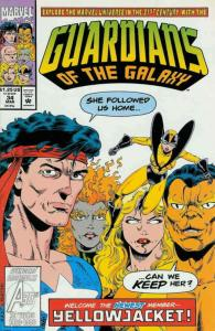 Guardians of the Galaxy #34 VF/NM; Marvel | save on shipping - details inside