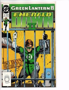 DC Comics Green Lantern EMERALD DAWN II  #1 Keith Giffen (story); Gerard Jones