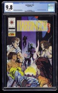 Harbinger #10 CGC NM/M 9.8 White Pages
