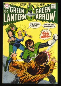 Green Lantern #78 FN/VF 7.0 White Pages Neal Adams Cover/Art!