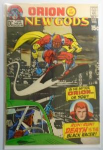 New Gods (1st Series) #3 Jack Kirby One Detached Staple 2.0 (1971)