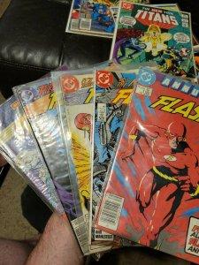 FLASH Lot 5 comics- DC Comics