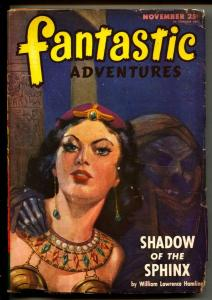 Fantastic Adventures-Pulp-11/1946-William Lawrence Hamling