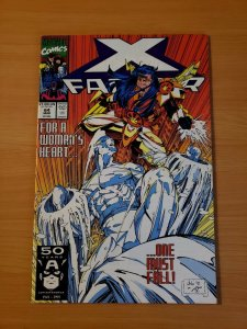 X-Factor #64 Direct Market Edition ~ NEAR MINT NM ~ (1991, Marvel Comics)