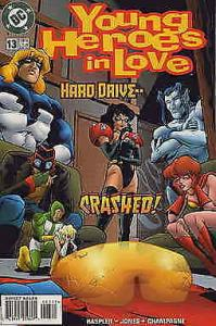 Young Heroes in Love #13 FN; DC | save on shipping - details inside