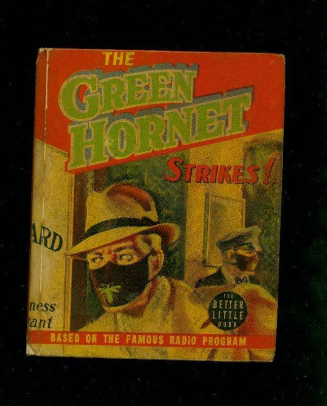 THE GREEN HORNET STRIKES-#1453-BIG LITTLE BOOKS-1940-vg/fine VG/FN
