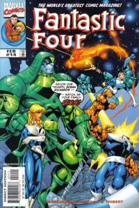 Fantastic Four (1998 series) #14, VF+ (Stock photo)
