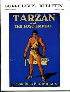 Burroughs Bulletin New Series #42 2000-ERB-Tarzan-Armstrong W. Sperry-VF