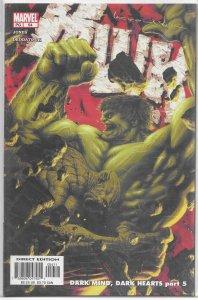 Incredible Hulk (vol. 2, 1999) # 54 VF/NM (Dark Mind, Dark Hearts 5) Deodato