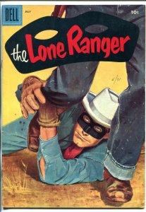 LONE RANGER #97-1956-DELL-TONTO-YOUNG HAWK-fn minus