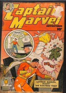 Captain Marvel Adventures #7 Very Low Grade