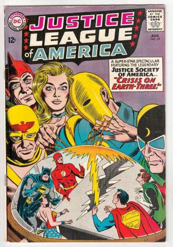 Justice League of America #29 (Aug-64) VG/FN Mid-Grade Justice League of Amer...