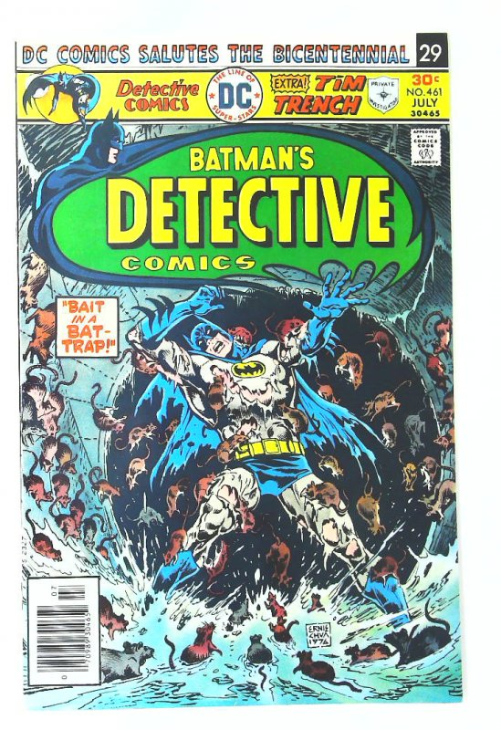 Detective Comics (1937 series) #461, NM- (Actual scan)