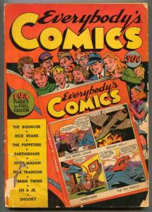 Everybody's Comics 1944- Green Mask- incomplete bargain