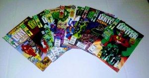 Green Lantern comic book lot of 9 average grade 7.5-8.0 (id#010)