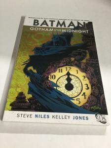 Batman Gotham After Midnight Nm Near Mint DC Comics SC TPB